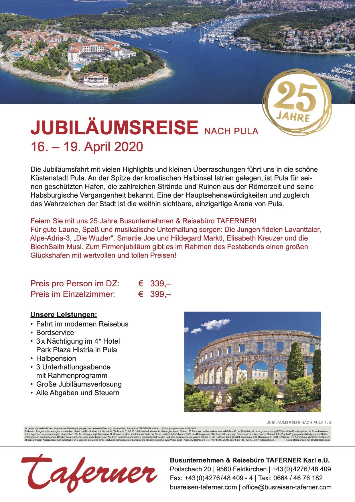 KFB_TAFERNER_JubilaeumsreisePula2020
